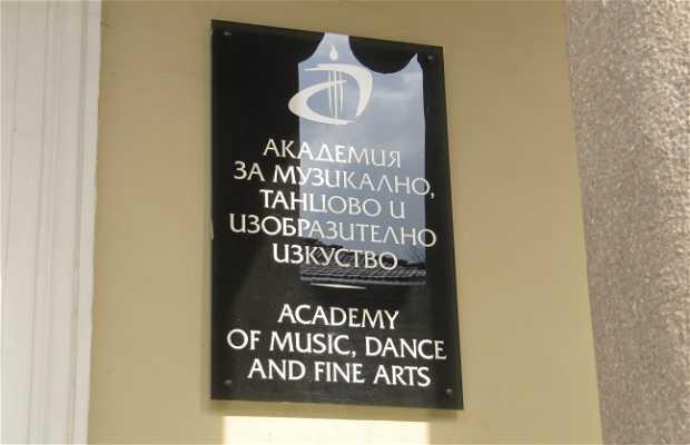 Academia de musica, danza y arte
