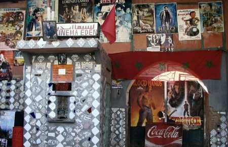 El antiguo Cine Eden en Marrakech