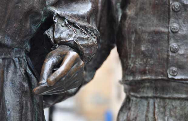 Escultura de la jota