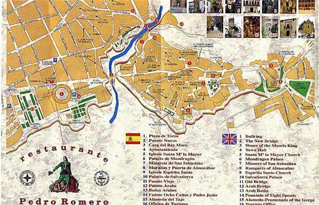 Via Carrera Espinel a Ronda