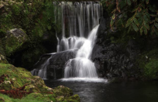 Cascada de Achada