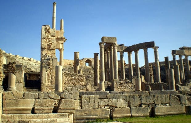 Théâtre romain de Dougga