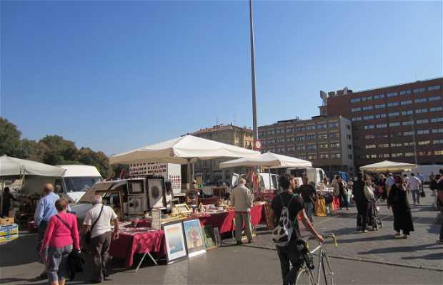 Rastro plaza VIII de Agosto