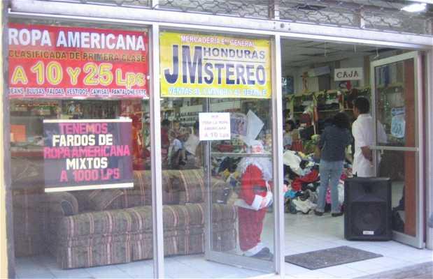 I negozi di seconda mano di Tegucigalpa