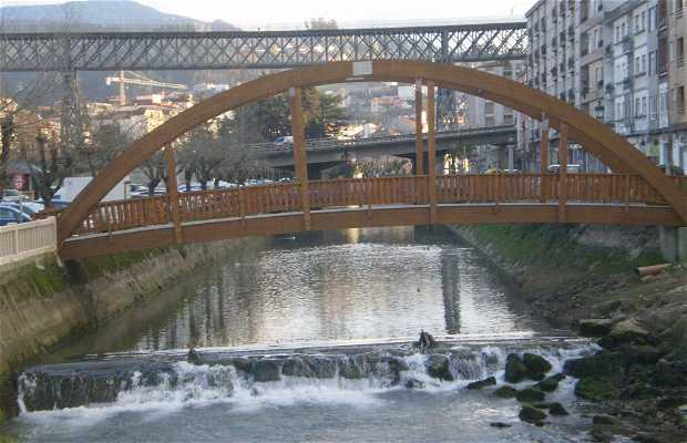 Puente sobre el rio Alvedosa