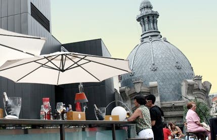Terraza del bar Yandiola