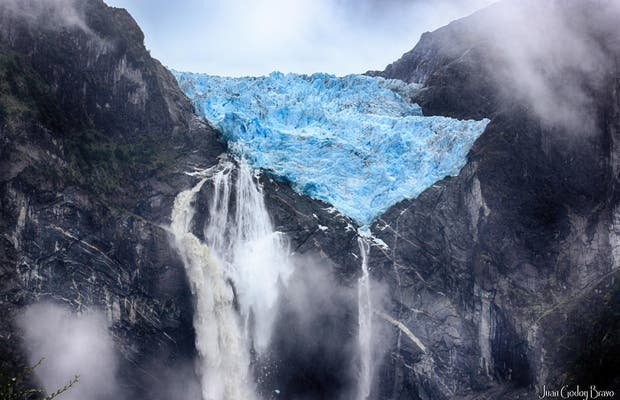 Glaciar Ventisquero Colgante