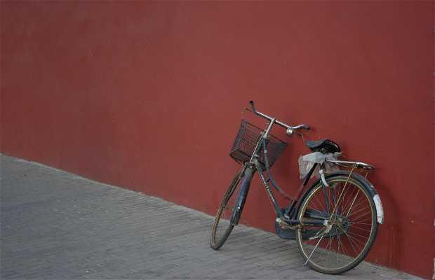 Paseo en bici por Beijing