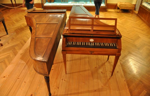 Collection des instruments de musique anciens