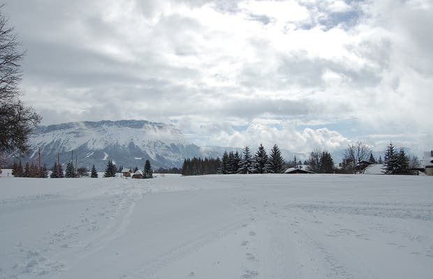 Ski resort of Chambery