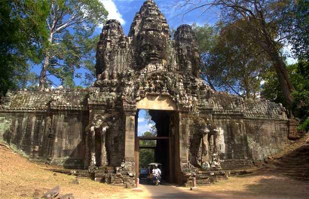 Puerta este de Angkor Thom