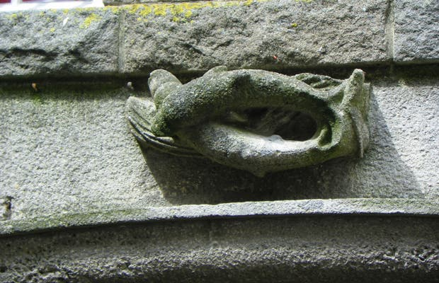 Sculptures des passages de Saint-Malo