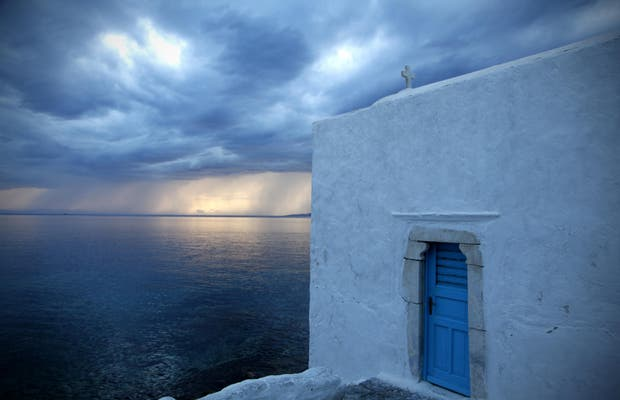 Quartier ancien de Mykonos