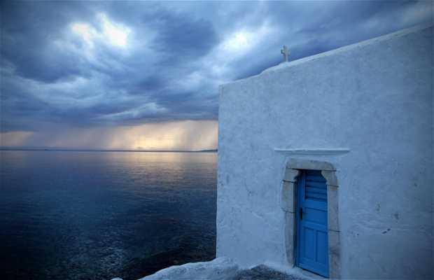 Quartiere antico di Mykonos
