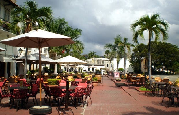 Plaza de España o de la Hispanidad a Santo Domingo