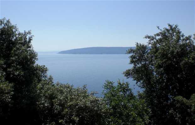 Carretera de Rijeka a Pula