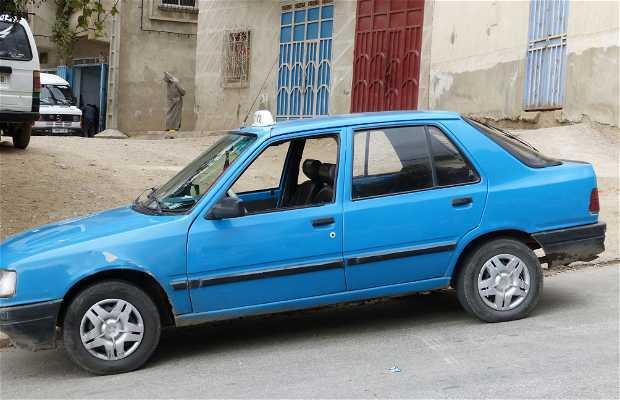 Trayecto en taxi Medina – Estación Autobuses