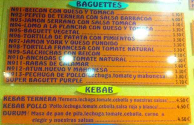Burguer Purple