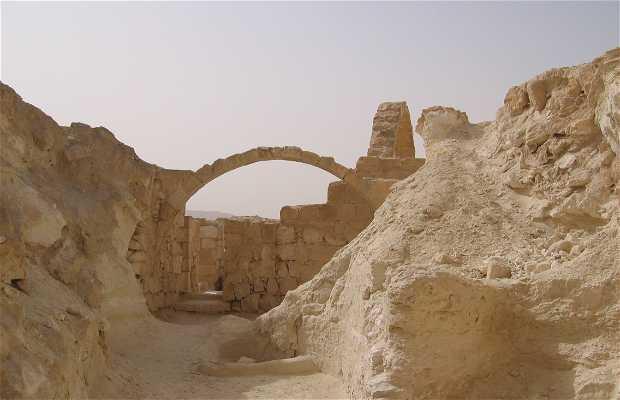 Ruines Avedat nabateo-bizantinas
