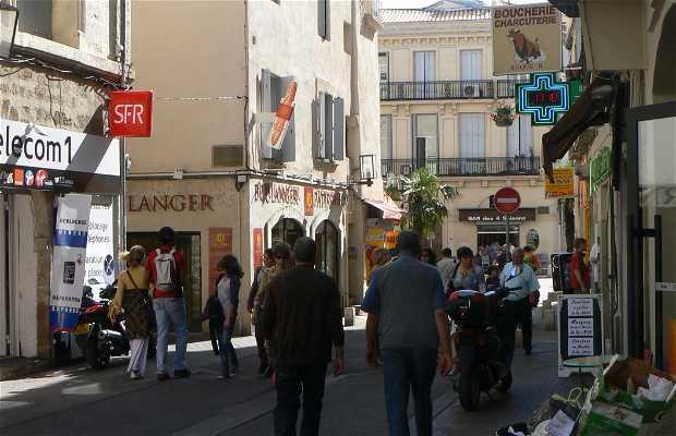 Rue saint Guilhem