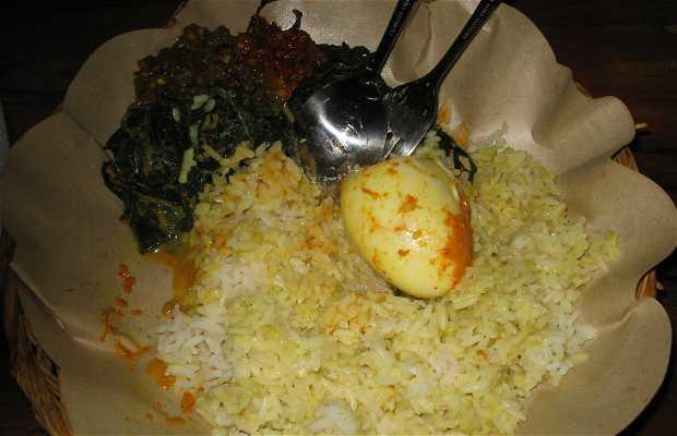 Comer e alojar-se na Indonésia