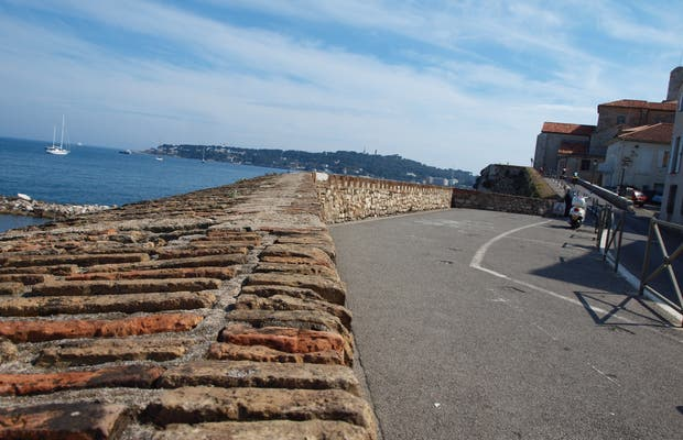 Ramparts of the old Antibes
