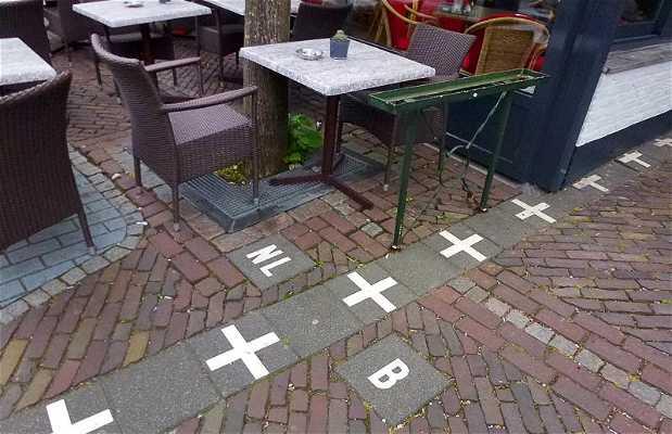 Frontera entre Holanda y Belgica