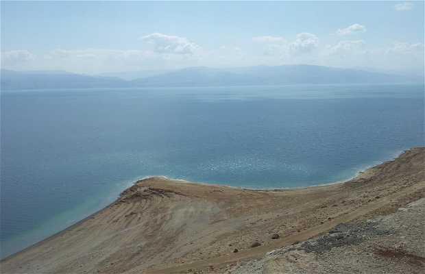 Mirador sobre el mar Muerto Km 248