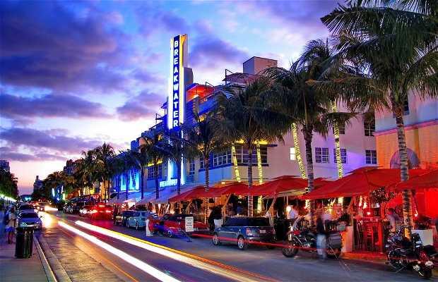 Quartiere Art Decó a Miami Beach