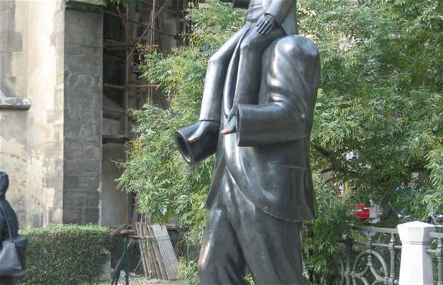 Estatua de Franz Kafka