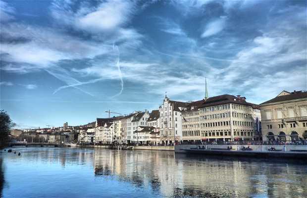 Le strade di Zurigo