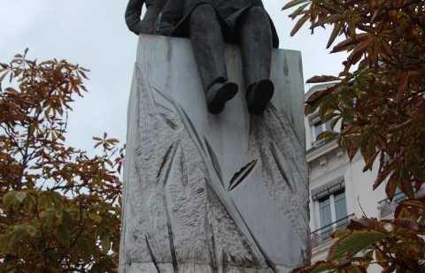 Estatua de Antoine de Saint Exupery