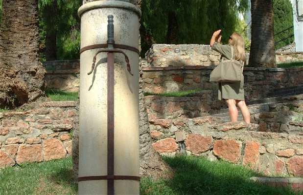 The Tizona sword of Cid Campeador