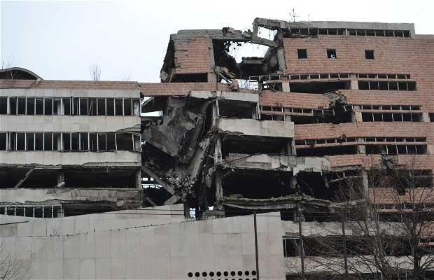 Antiga Sede do Ministério da Defesa Sérvio