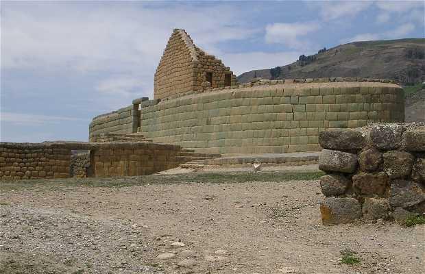 Castello di Ingapirca in Ecuador