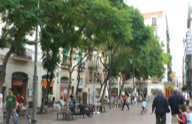 Piazza della Rivoluzione del 1868 a Barcellona