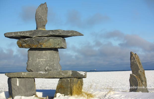 The Large Inukshuk