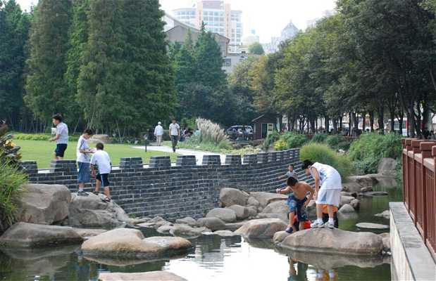 Lagos del parque Gucheng