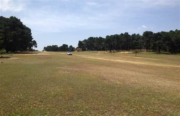 Campo de golf rural