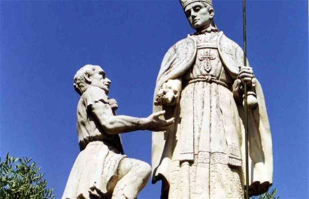 Monumento a Santo Tomás de Villanueva