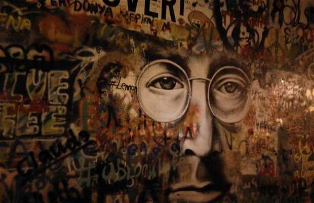 Muro di Lennon a Praga