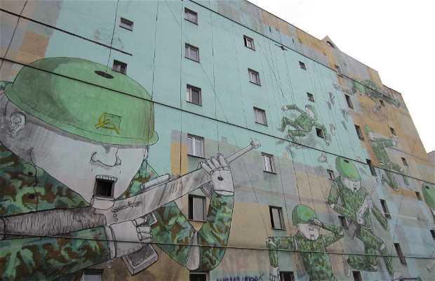 Mural anticapitalista