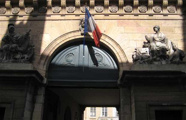 L'hôtel du commandement militaire