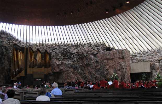 Chiesa nella roccia (Temppeliaukio Kirkko)