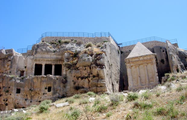 Absalom and Zechariah's Tombs