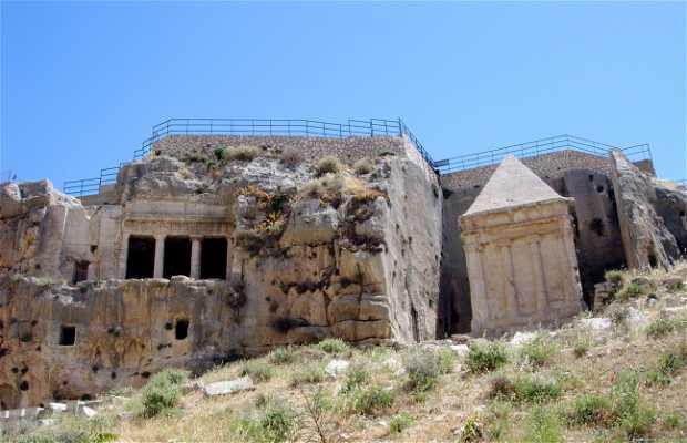 Tombes d'Absalón y de Zacarías
