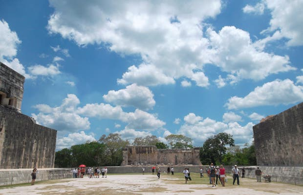 Great Ballcourt at Chichen Itza