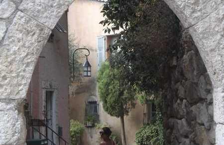 Barrio historico de La Turbie