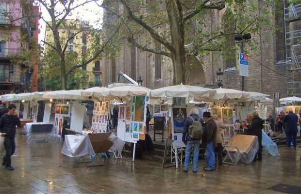 Praça Sant Josep Oriol