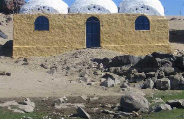 Villaggio nubiano nella zona di Abu Simbel